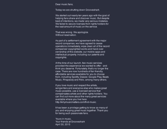 Grooveshark_letter